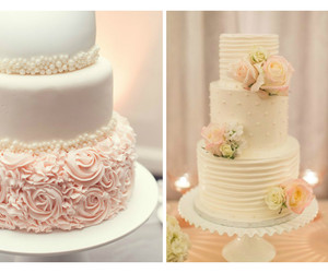 cakes, wedding, and wedding cakes image