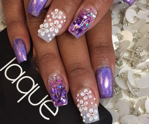 nails, ongles, and laque image