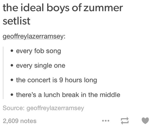 concert, fall out boy, and patrick stump image