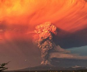 volcano and chile image