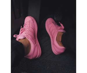pink, adidas, and supercolor image