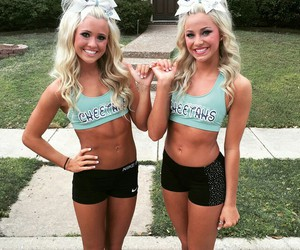 best friends, ca cheetahs, and cheer image