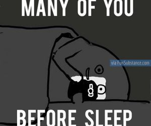 funny, sleep, and quote image