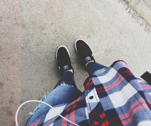 casual, girl, and grunge image