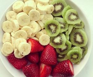 fruit, salade, and food image