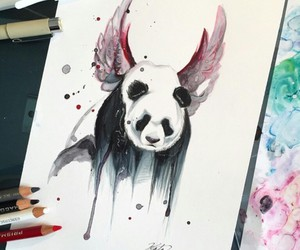 art and panda image
