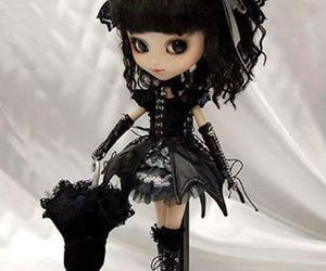 black and doll image