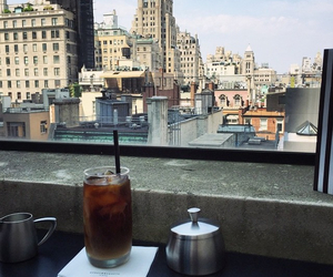 coffe, fashion, and new york image