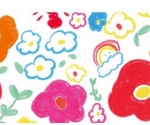background, flower, and illust image