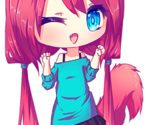 chibi, cute, and anime image