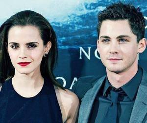 emma watson and logan lerman image
