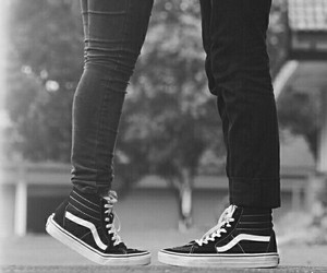 couple, vans, and Relationship image