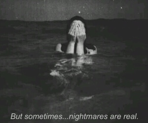 black and white, crying, and dreams image