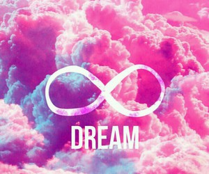 Dream, pink, and wallpaper image