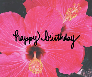 june, pink, and happybirthday image