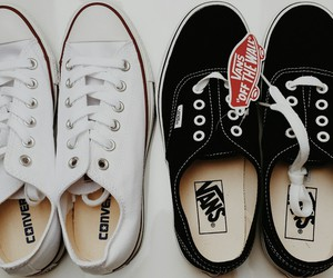 all star, fashion, and vans of the wall image