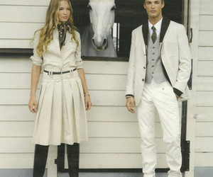 equestrian, fashion, and hamptons image