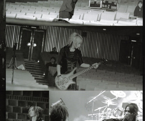 *-*, aoi, and black and white image