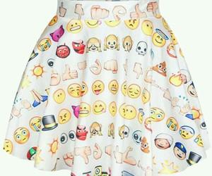 skirt and emoji image