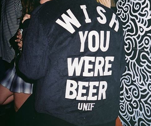 beer, fashion, and grunge image