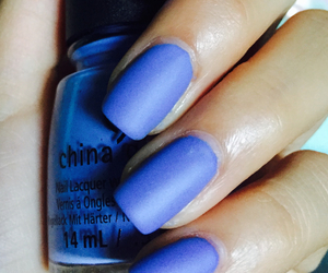 blue, nail, and Easy image