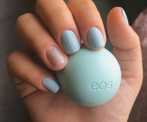 eos, glitter, and lip balm image