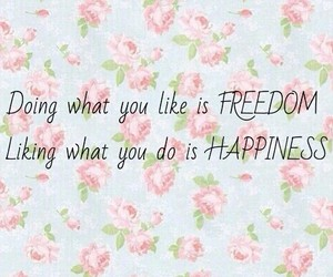 flowers, freedom, and happiness image