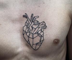 corazon, heart, and geometric image