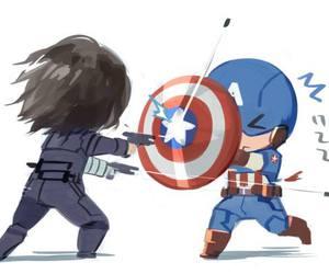 Avengers, sebastian stan, and captain america image