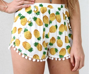summer, pineapple, and fashion image