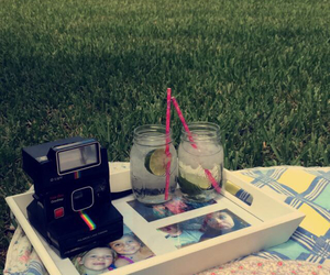 best friend, happy, and picnic image
