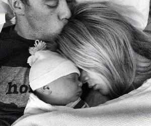 baby, dad, and goals image