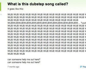 dubstep, funny, and song image