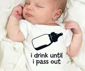 baby, drink, and love image