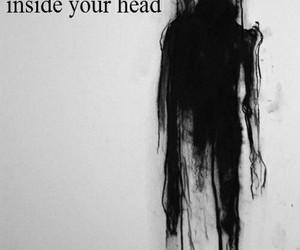 monster, black, and sad image