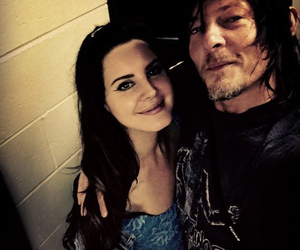 lana del rey, norman reedus, and twd image