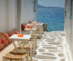 sea, summer, and Greece image