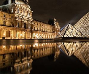 france, louvre, and paris image