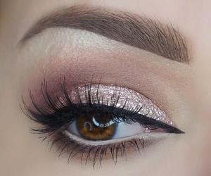 eye, girly, and makeup image