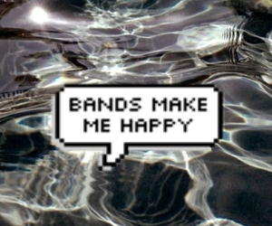 band, grunge, and happy image