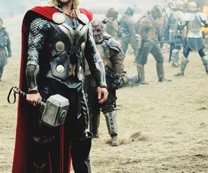 Avengers, chris hemsworth, and thor image