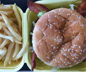 beautiful, boho, and burger image
