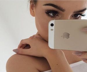 iphone, beauty, and makeup image