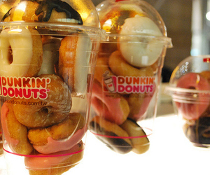donuts, dunkin donuts, and food image