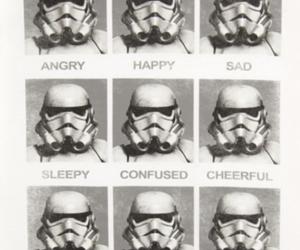 star wars, happy, and sad image