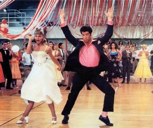 grease, dance, and John Travolta image