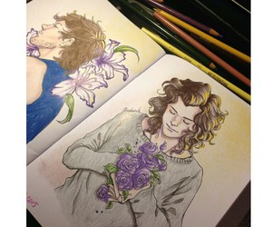 draw, lgbt, and harrystyles image