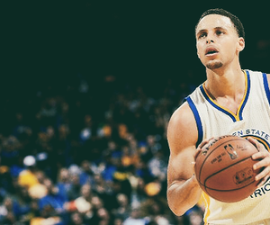 Basketball, stephen curry, and NBA image