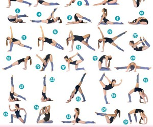 fitness, stretch, and workout image