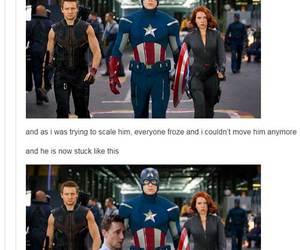 tom hiddleston, Avengers, and captain america image
